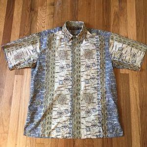 Tori Richard Casual Shirt Sz Medium